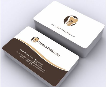 Manteca Endodontics Business Cards and Stationery  Draft # 168 by Deck86
