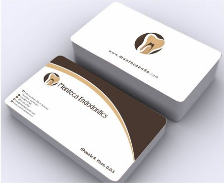 Manteca Endodontics Business Cards and Stationery  Draft # 169 by Deck86