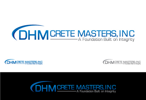 DHM Crete Masters, Inc. (not sure if it needs to be in design but that's the name of company A Logo, Monogram, or Icon  Draft # 143 by Filter