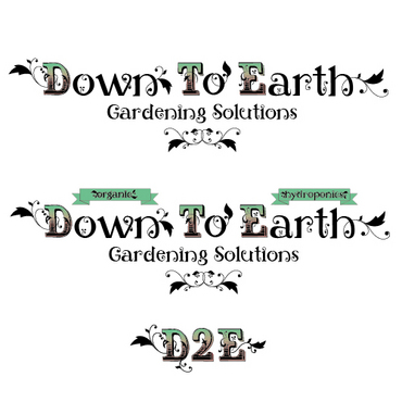 Down To Earth Gardening Solutions A Logo, Monogram, or Icon  Draft # 17 by melody1