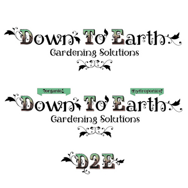Down To Earth Gardening Solutions A Logo, Monogram, or Icon  Draft # 18 by melody1