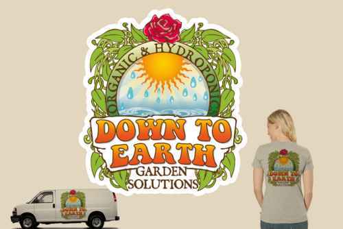 Down To Earth Gardening Solutions A Logo, Monogram, or Icon  Draft # 27 by Artworxs