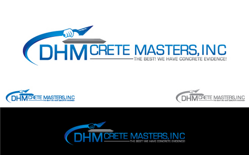 DHM Crete Masters, Inc. (not sure if it needs to be in design but that's the name of company A Logo, Monogram, or Icon  Draft # 147 by Filter