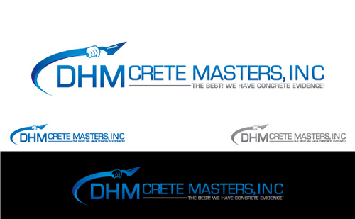 DHM Crete Masters, Inc. (not sure if it needs to be in design but that's the name of company A Logo, Monogram, or Icon  Draft # 148 by Filter