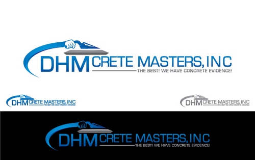 DHM Crete Masters, Inc. (not sure if it needs to be in design but that's the name of company A Logo, Monogram, or Icon  Draft # 149 by Filter