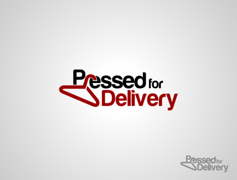 Pressed for Delivery Logo Winning Design by thebloker