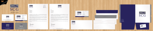 SCG Advisor Business Cards and Stationery Winning Design by einsanimation
