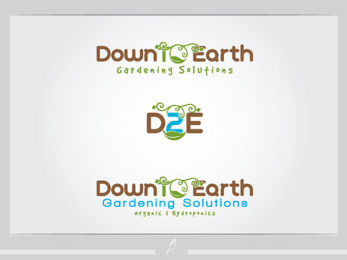 Down To Earth Gardening Solutions A Logo, Monogram, or Icon  Draft # 35 by Logoziner
