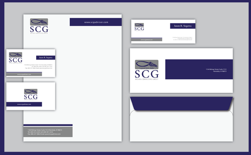 SCG Advisor Business Cards and Stationery  Draft # 299 by jpgart92