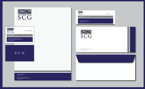 SCG Advisor Business Cards and Stationery  Draft # 300 by jpgart92