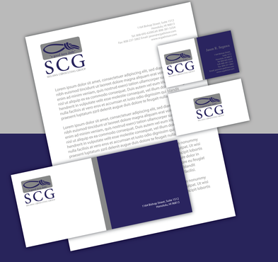 SCG Advisor Business Cards and Stationery  Draft # 301 by jpgart92