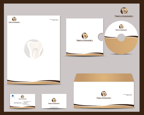 Manteca Endodontics Business Cards and Stationery  Draft # 288 by jpgart92