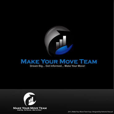Make Your Move Team A Logo, Monogram, or Icon  Draft # 187 by AntonioPascual