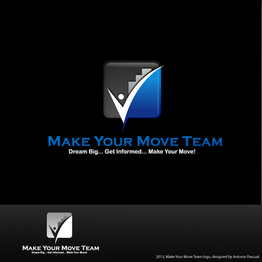 Make Your Move Team A Logo, Monogram, or Icon  Draft # 188 by AntonioPascual