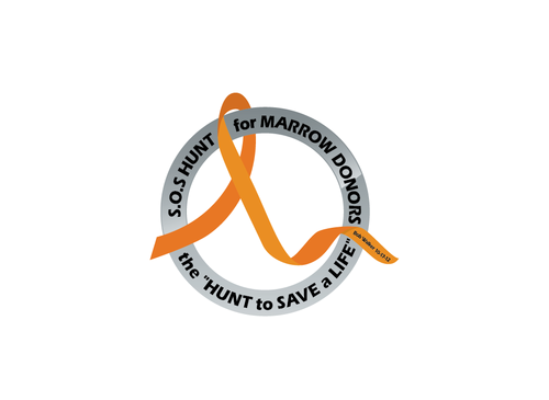 "S.O.S  HUNT for MARROW DONORS ----the ""HUNT to SAVE a LIFE"" ---- Bob Walker 10-17-12       A Logo, Monogram, or Icon  Draft # 38 by PeterZ"