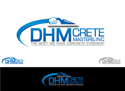 DHM Crete Masters, Inc. (not sure if it needs to be in design but that's the name of company A Logo, Monogram, or Icon  Draft # 182 by Filter