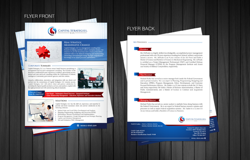 Small Business Marketing Sheet Marketing collateral Winning Design by Achiver