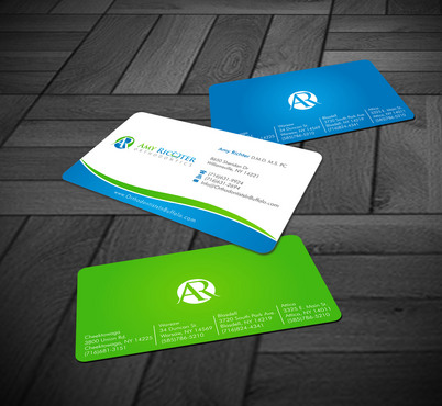 Amy Richter Orthodontics Business Cards and Stationery  Draft # 5 by Xpert
