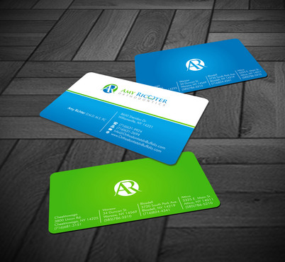 Amy Richter Orthodontics Business Cards and Stationery  Draft # 9 by Xpert