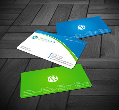 Amy Richter Orthodontics Business Cards and Stationery  Draft # 8 by Xpert
