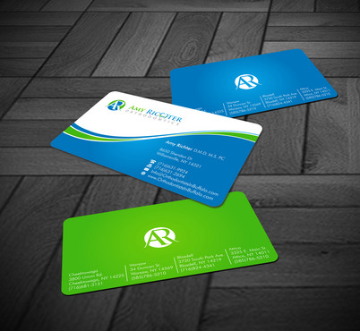 Amy Richter Orthodontics Business Cards and Stationery  Draft # 10 by Xpert
