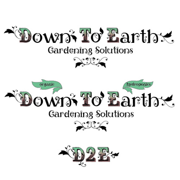 Down To Earth Gardening Solutions A Logo, Monogram, or Icon  Draft # 37 by melody1