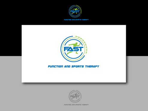 Function and Sports Therapy and utilize the acronym FAST A Logo, Monogram, or Icon  Draft # 55 by kenjitheslasher