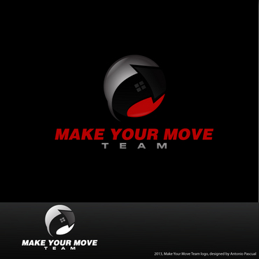 Make Your Move Team Logo Winning Design by AntonioPascual