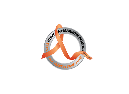 "S.O.S  HUNT for MARROW DONORS ----the ""HUNT to SAVE a LIFE"" ---- Bob Walker 10-17-12       A Logo, Monogram, or Icon  Draft # 49 by PeterZ"