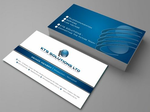 KTS SOLUTIONS Business Cards and Stationery  Draft # 127 by Deck86