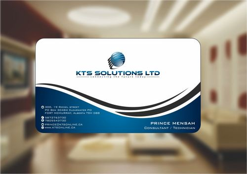 KTS SOLUTIONS Business Cards and Stationery  Draft # 133 by Deck86