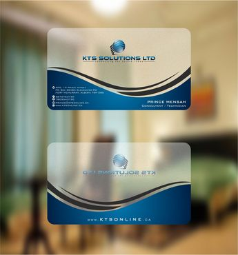 KTS SOLUTIONS Business Cards and Stationery  Draft # 135 by Deck86