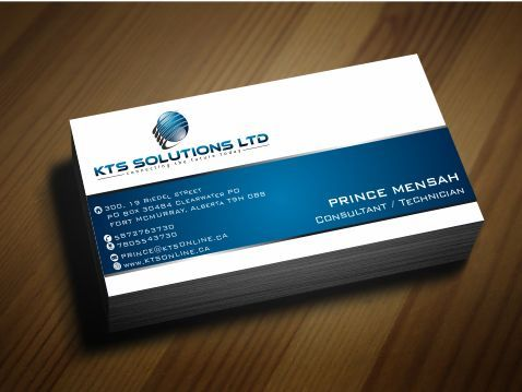 KTS SOLUTIONS Business Cards and Stationery  Draft # 139 by Deck86
