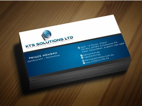 KTS SOLUTIONS Business Cards and Stationery  Draft # 140 by Deck86