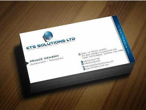 KTS SOLUTIONS Business Cards and Stationery  Draft # 141 by Deck86