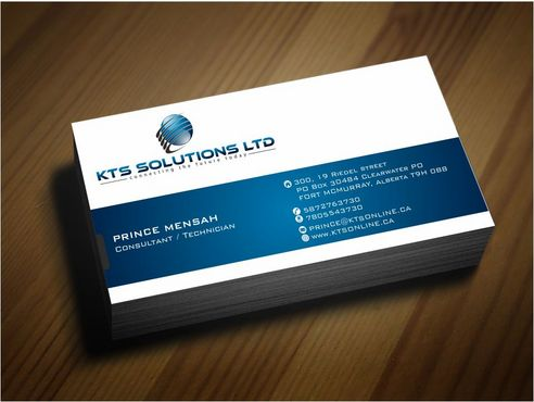 KTS SOLUTIONS Business Cards and Stationery  Draft # 142 by Deck86