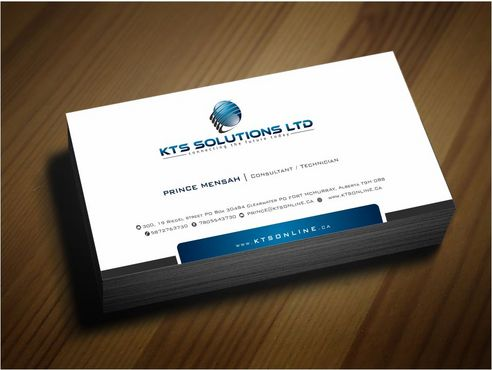 KTS SOLUTIONS Business Cards and Stationery  Draft # 143 by Deck86