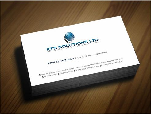 KTS SOLUTIONS Business Cards and Stationery  Draft # 144 by Deck86
