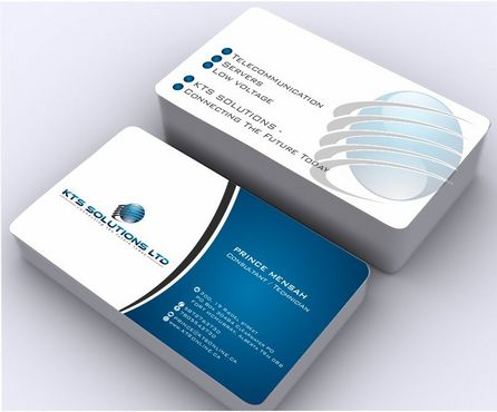 KTS SOLUTIONS Business Cards and Stationery  Draft # 145 by Deck86