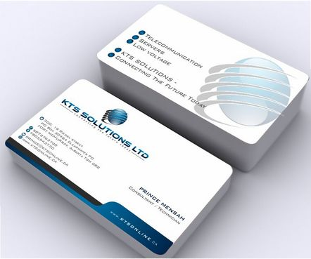 KTS SOLUTIONS Business Cards and Stationery  Draft # 146 by Deck86