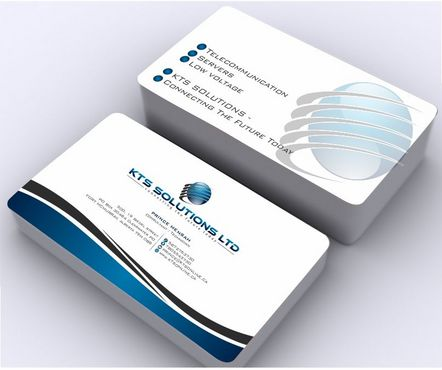 KTS SOLUTIONS Business Cards and Stationery  Draft # 148 by Deck86