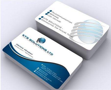 KTS SOLUTIONS Business Cards and Stationery  Draft # 149 by Deck86