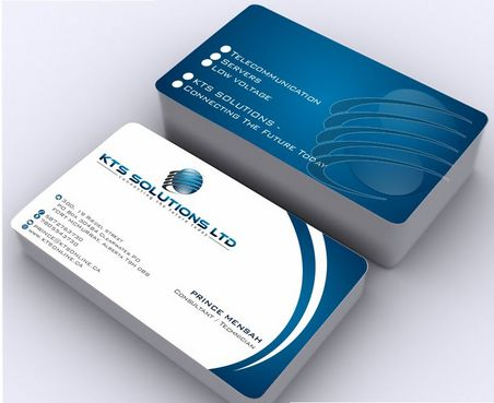 KTS SOLUTIONS Business Cards and Stationery  Draft # 150 by Deck86