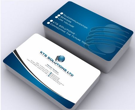 KTS SOLUTIONS Business Cards and Stationery  Draft # 151 by Deck86