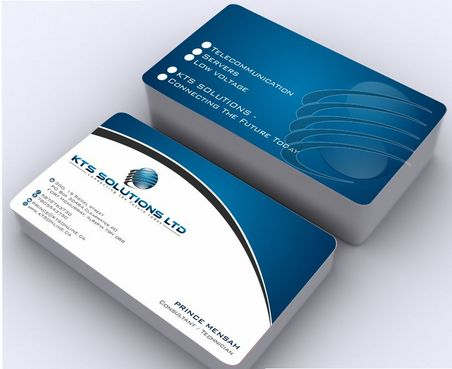 KTS SOLUTIONS Business Cards and Stationery  Draft # 152 by Deck86