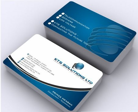 KTS SOLUTIONS Business Cards and Stationery  Draft # 153 by Deck86
