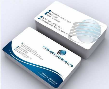 KTS SOLUTIONS Business Cards and Stationery  Draft # 154 by Deck86