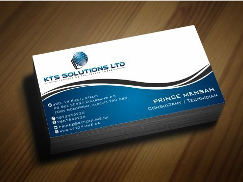 KTS SOLUTIONS Business Cards and Stationery  Draft # 155 by Deck86