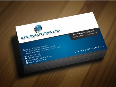 KTS SOLUTIONS Business Cards and Stationery  Draft # 156 by Deck86
