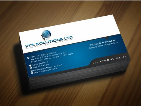 KTS SOLUTIONS Business Cards and Stationery  Draft # 157 by Deck86
